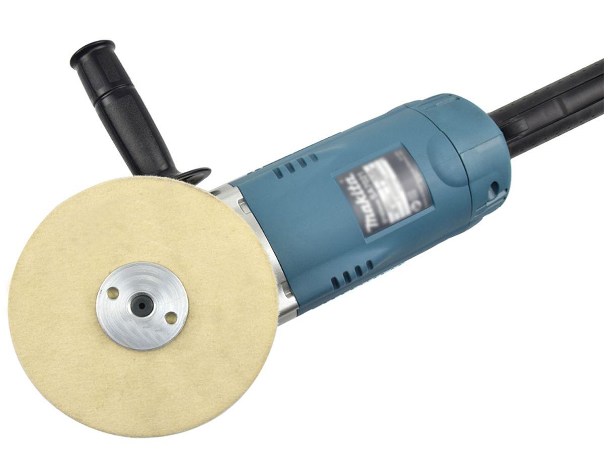 """Disco de Feltro Para Polimento 6"""" 150 x 20mm x 2,5cm (BRF Duro)"""