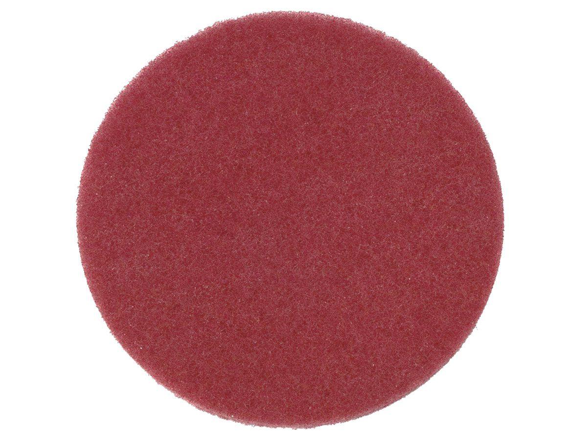 Disco de Fibra Limpeza e Manutenção Vermelho Tinindo - 3M   - COLAR