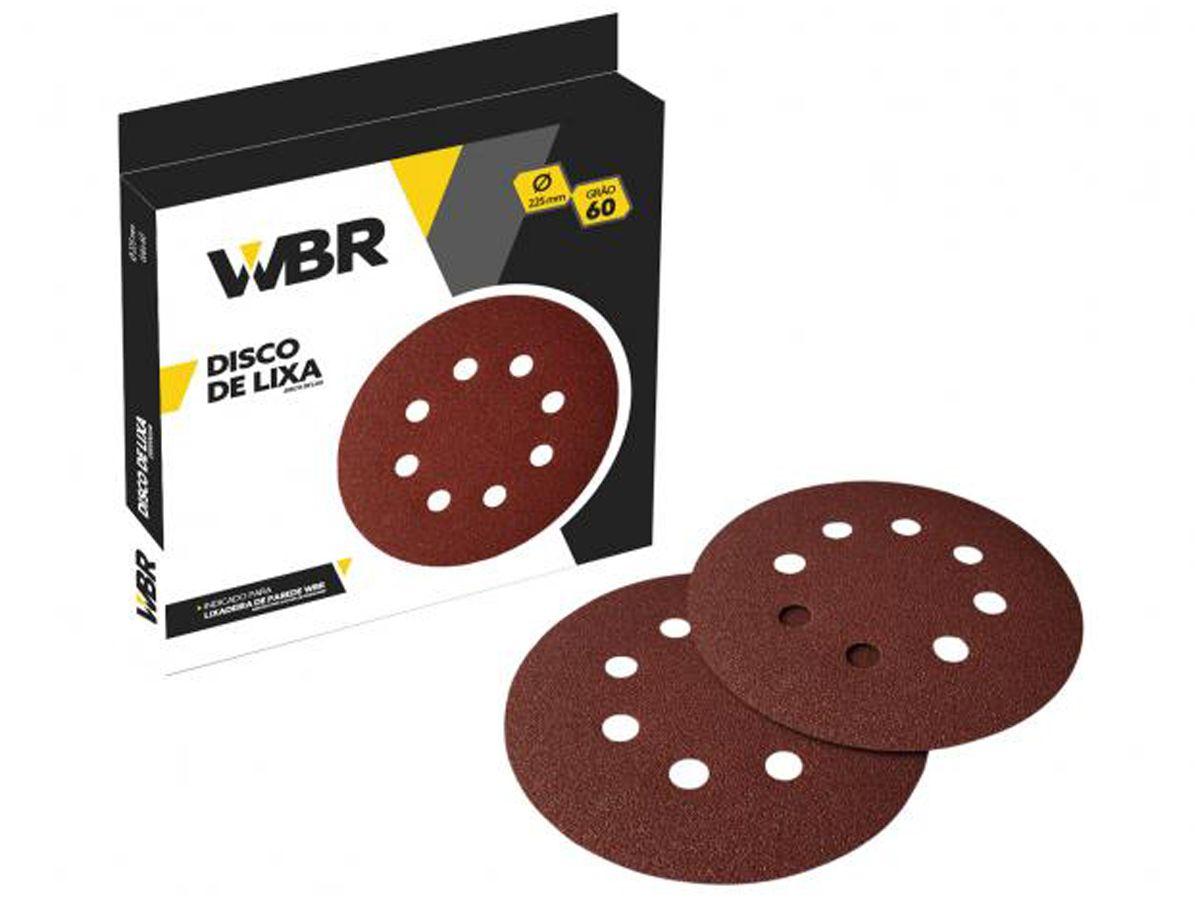 Disco de Lixa para Lixadeira 225mm WBR - Wagner  - COLAR