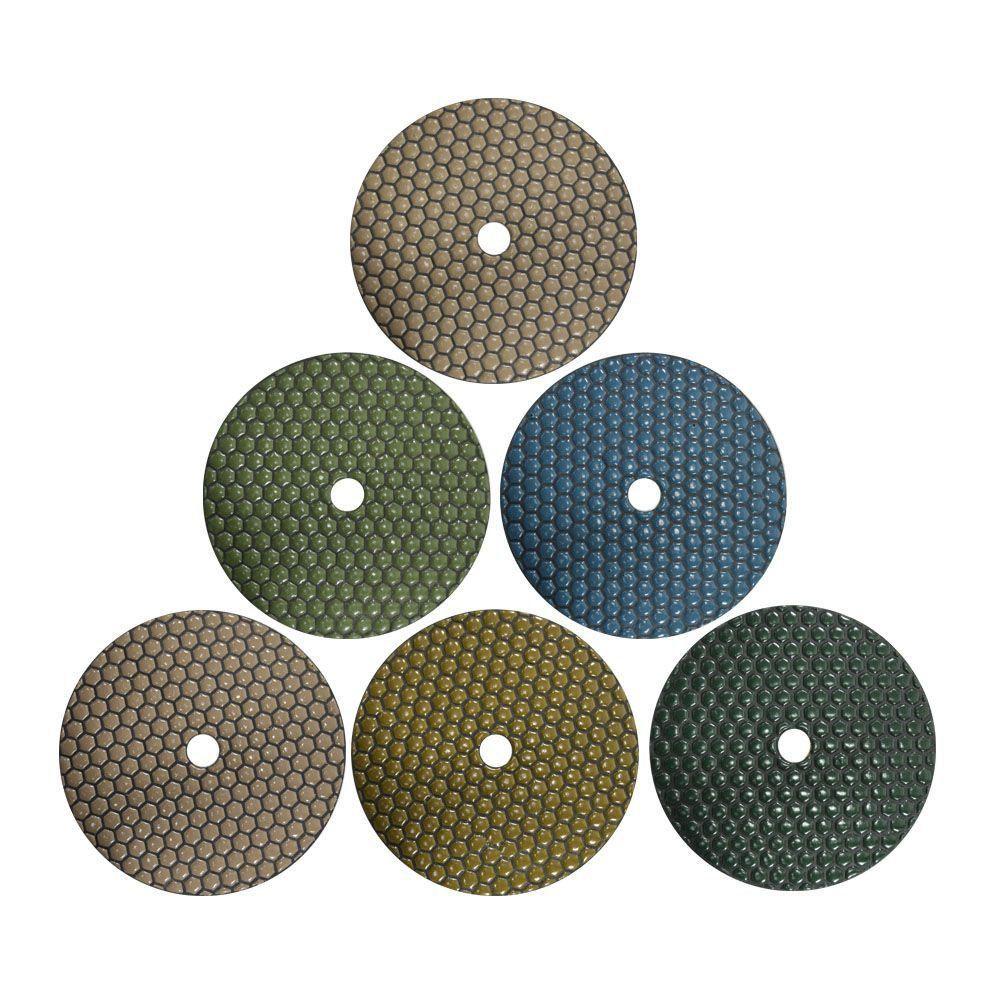Disco de Polimento Dry Flex 175mm  - COLAR