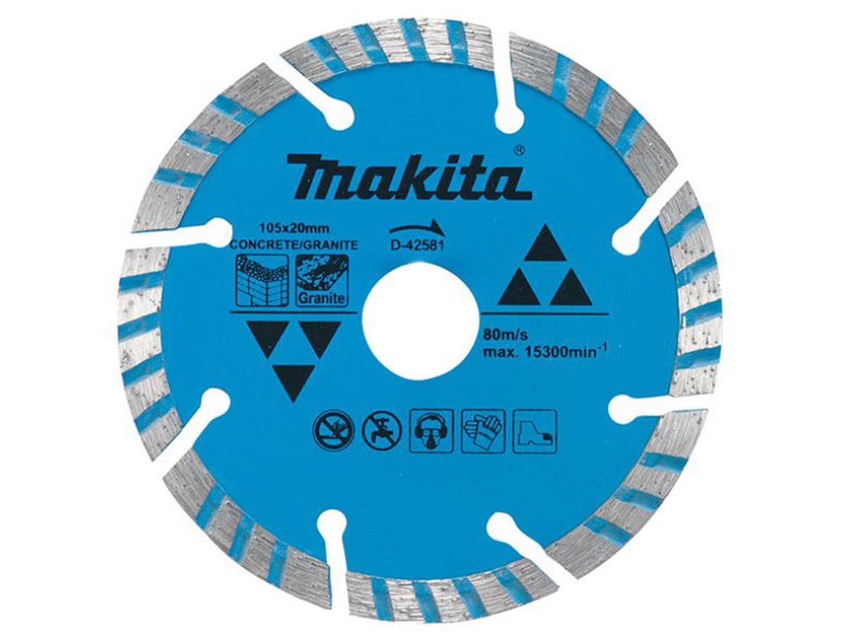 Disco de Corte Diamantado para Concreto e Granito - Makita
