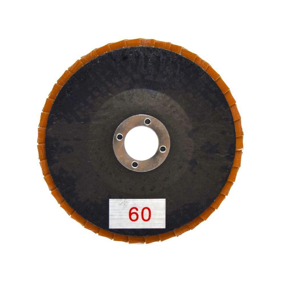 "Disco Flap Diamantado Eletrolítico 4"" - Colar   - COLAR"