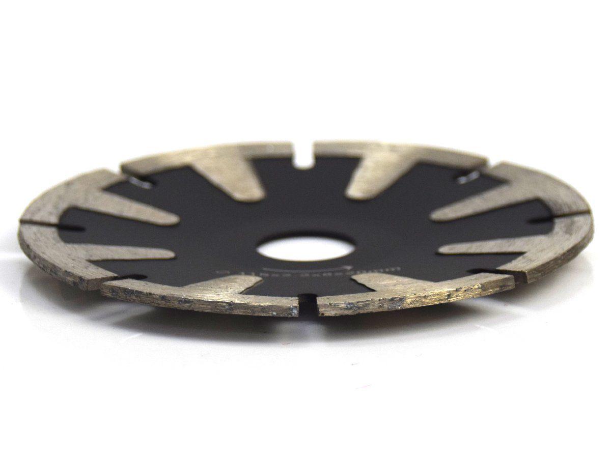 Disco Para Serra Mármore Concavo Segmentado Corte Alumínio 115mm - DM  - COLAR