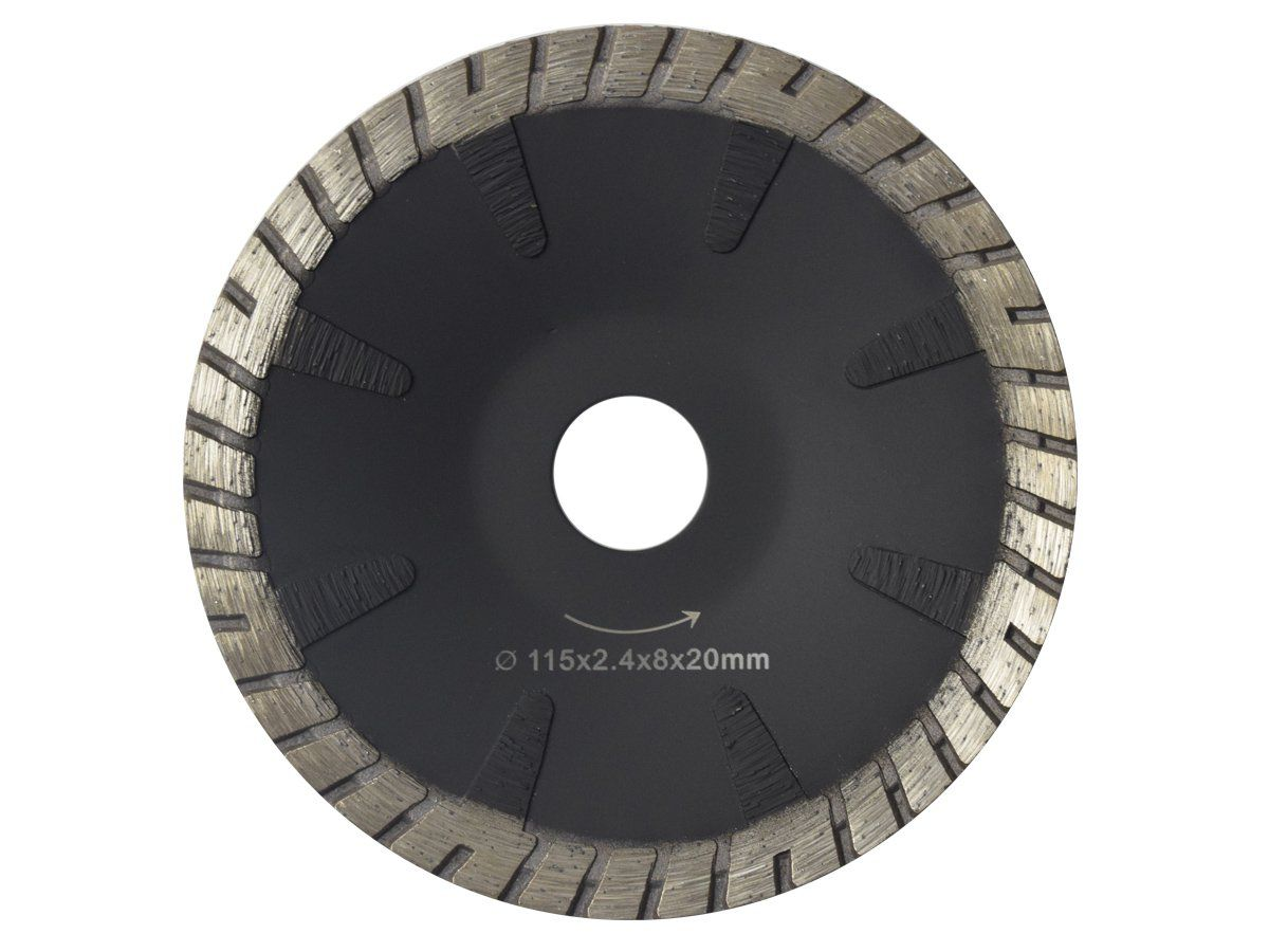 Disco Para Serra Mármore Concavo Contínuo Corte Mármore, Granito e Concreto 115mm - DM   - COLAR
