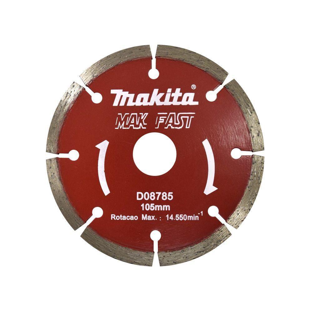 SUPER PROMOÇÃO - Disco Serra Mármore Corte Concreto - SEM BLISTER- D-08785 - Makita Mak Fast  - COLAR