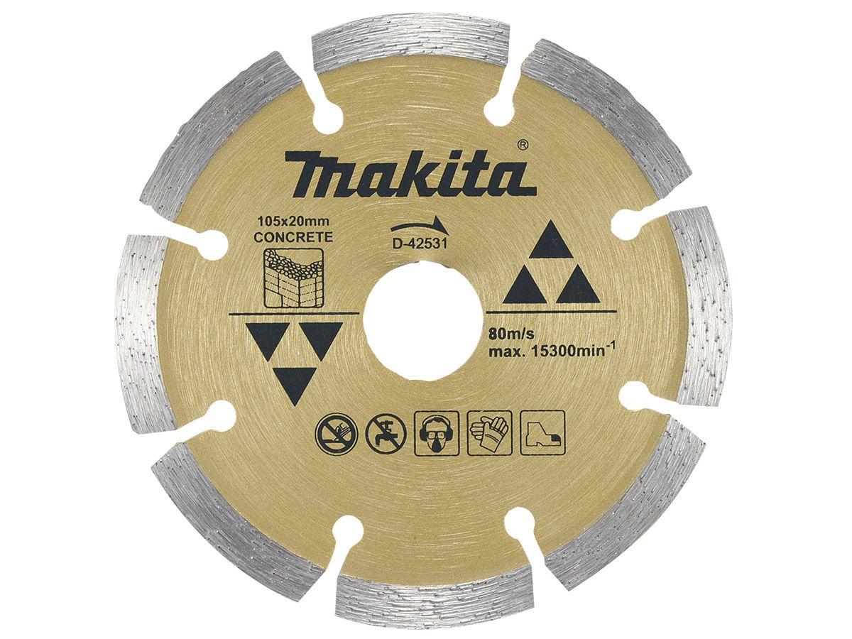 Disco de Corte Diamantado para Concreto D-42531 - Makita