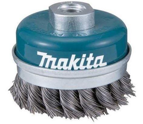 Escova Fios de Aço Trançado 2 Tipo Copo para Esmerilhadeira - Makita - Blister