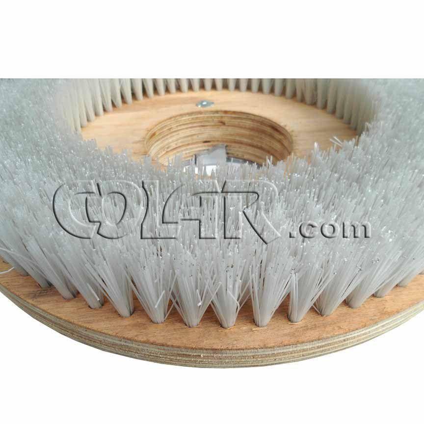 Escova de Lavar para Enceradeira Modelo Certec (Inclui Flange e Calço)  - COLAR