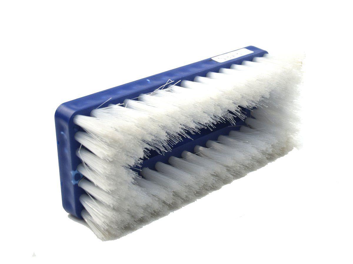 Escova De Nylon Para Limpeza Com Suporte LT Azul 22cm - CT  - COLAR