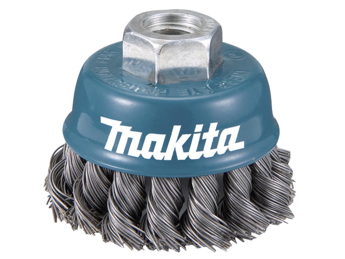 Escova Fios de Aço Trançado 1 Tipo Copo para Esmerilhadeira - Makita - Caixa