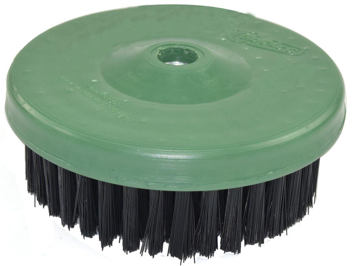 Escova Rotativa Circular Super Macia Verde - 120mm