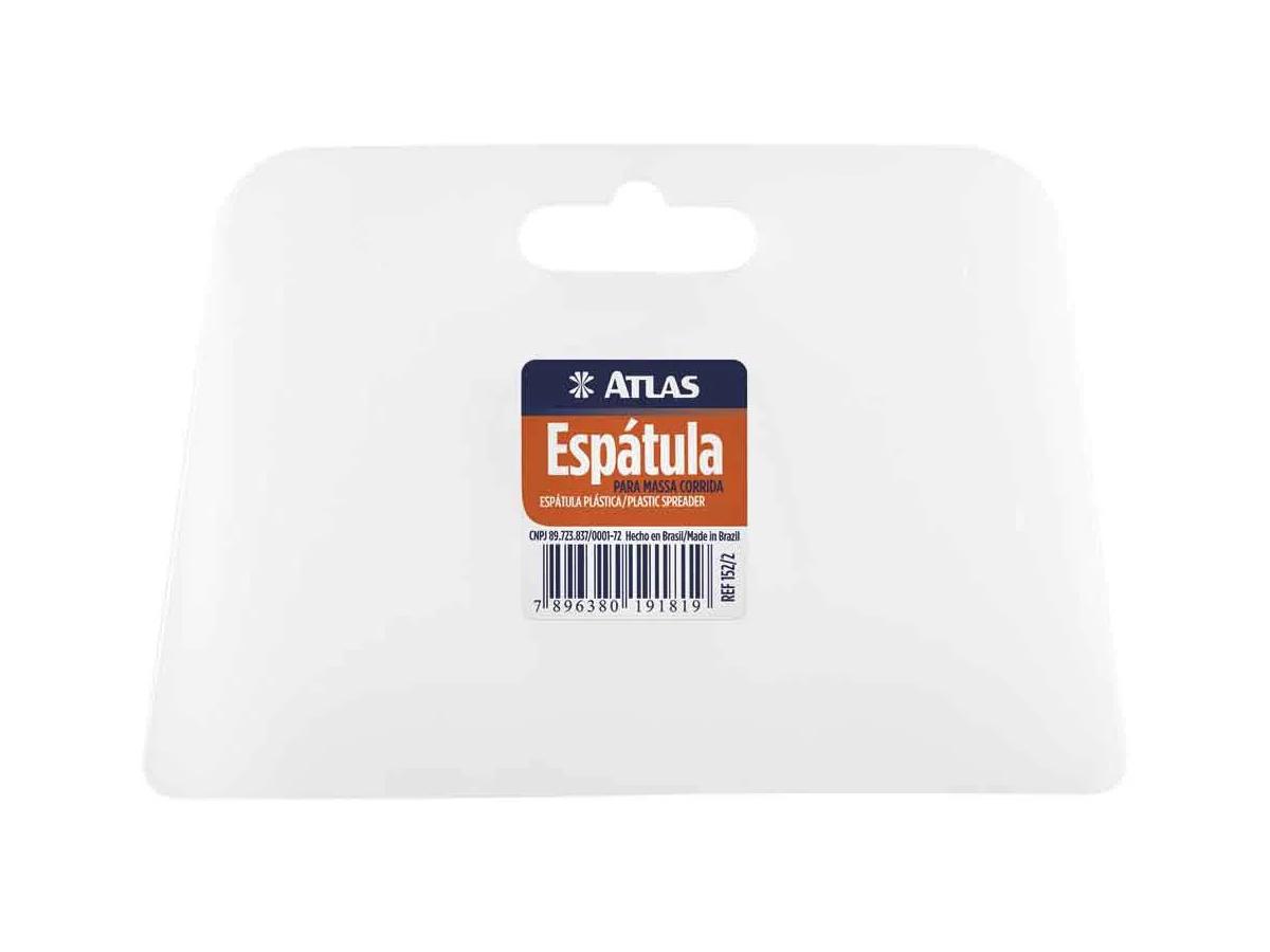 Espátula Plástica Solenoide Transparente - Atlas