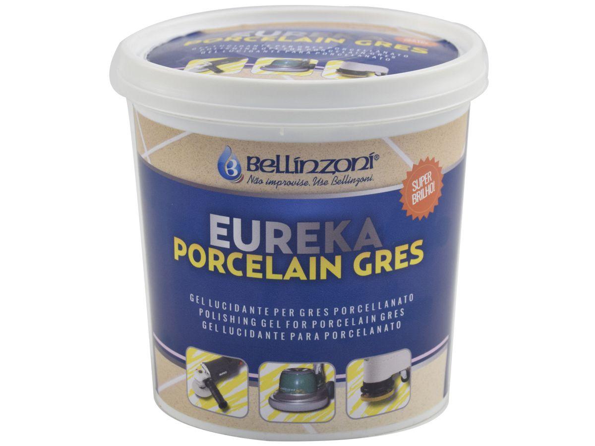 Eureka 1kg - Gel Lucidante Para Polimento de Porcelanato - Bellinzoni  - COLAR