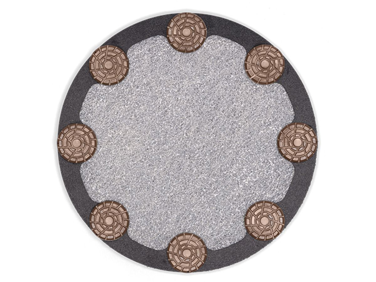Disco Para Polimento Husqvarna Hiperflex TRW  350mm