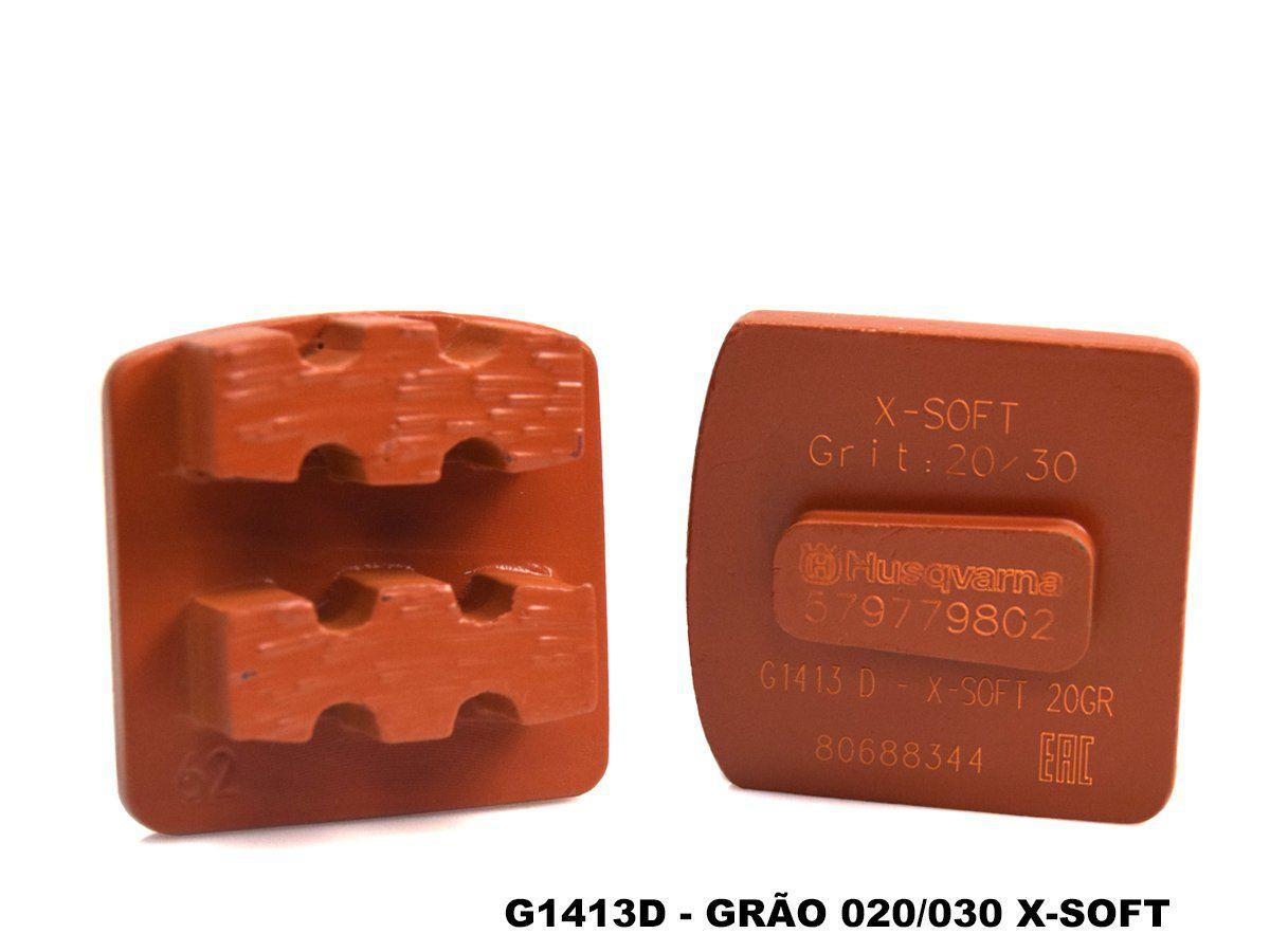 Inserto Diamantado Para Desbaste de Concreto 3pçs Liga XSoft - Husqvarna  - COLAR