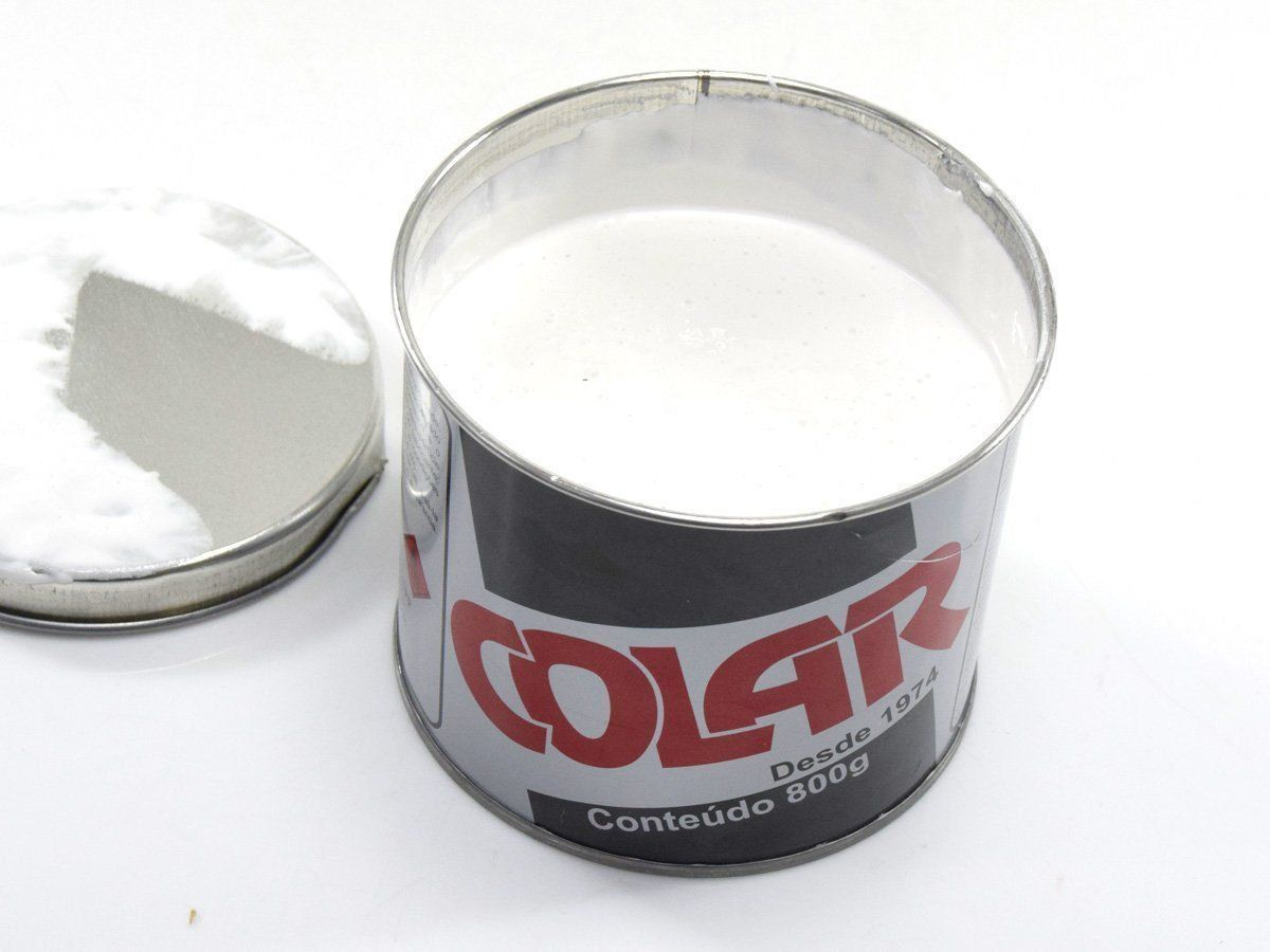 Kit com 30 Latas de Massa Plástica Comum 800 gr - Colar   - COLAR