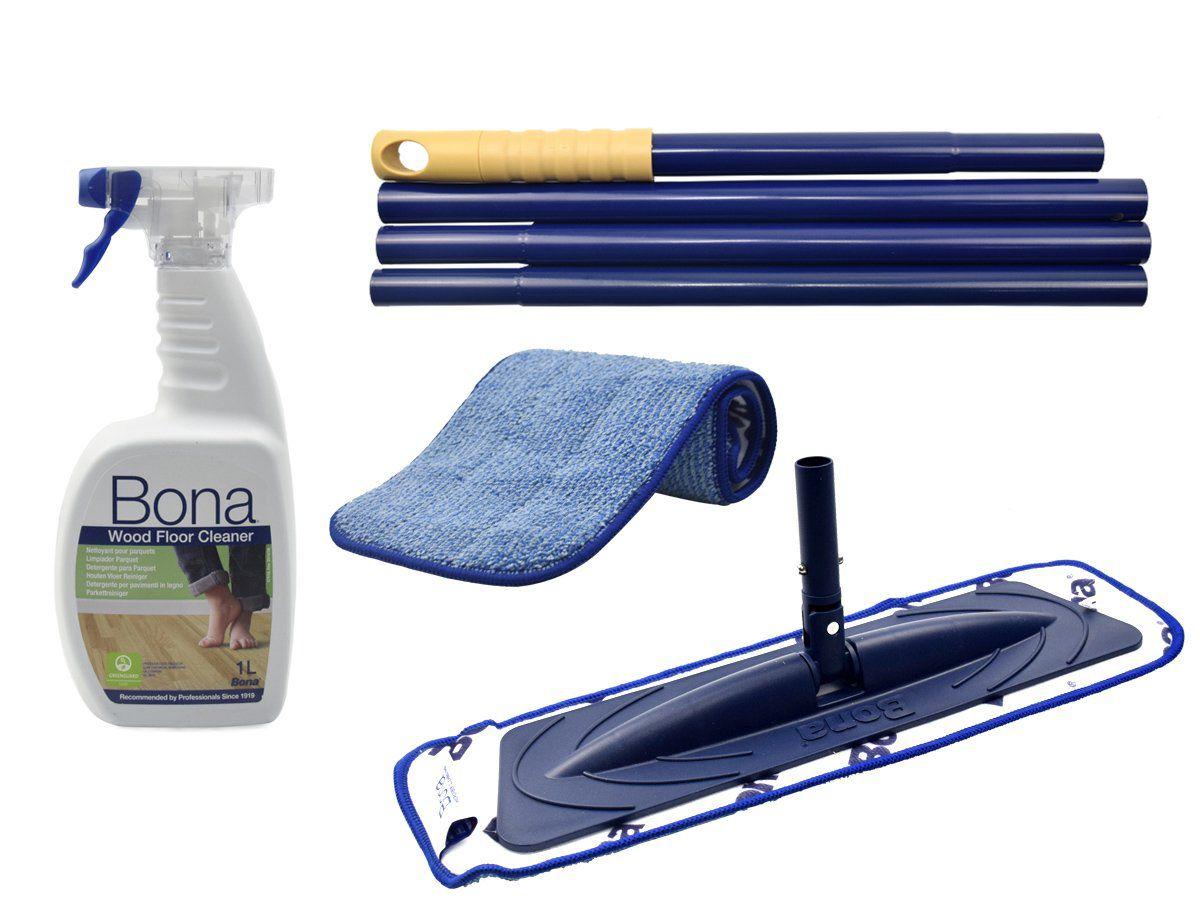 Kit De Limpeza Para Pisos De Madeira - Bona    - COLAR