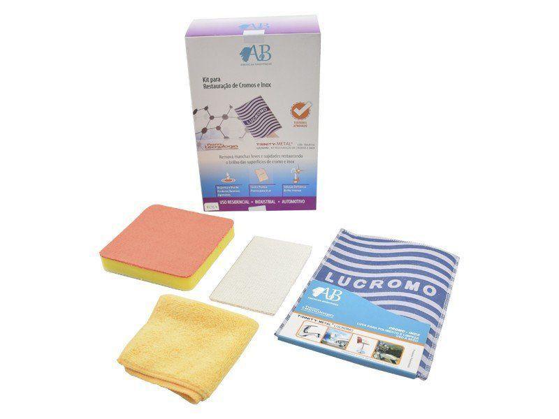 Kit Para Restauração de Cromos e Inox  - COLAR
