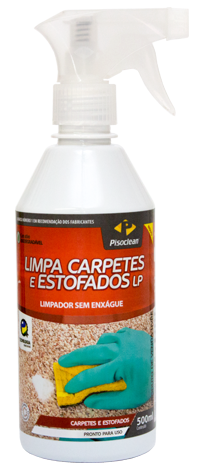 Limpa Carpetes e Estofados LP - 500ml  - COLAR