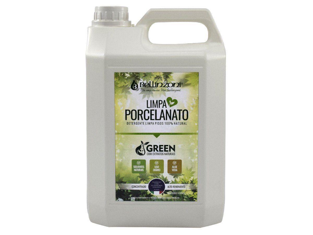 Limpa Porcelanato Bellínzoní - Detergente Limpa Pisos 100% Natural 5L  - COLAR