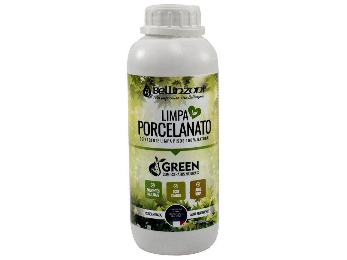 Limpa Porcelanato Bellínzoní - Detergente Limpa Pisos 100% Natural 1L  - COLAR