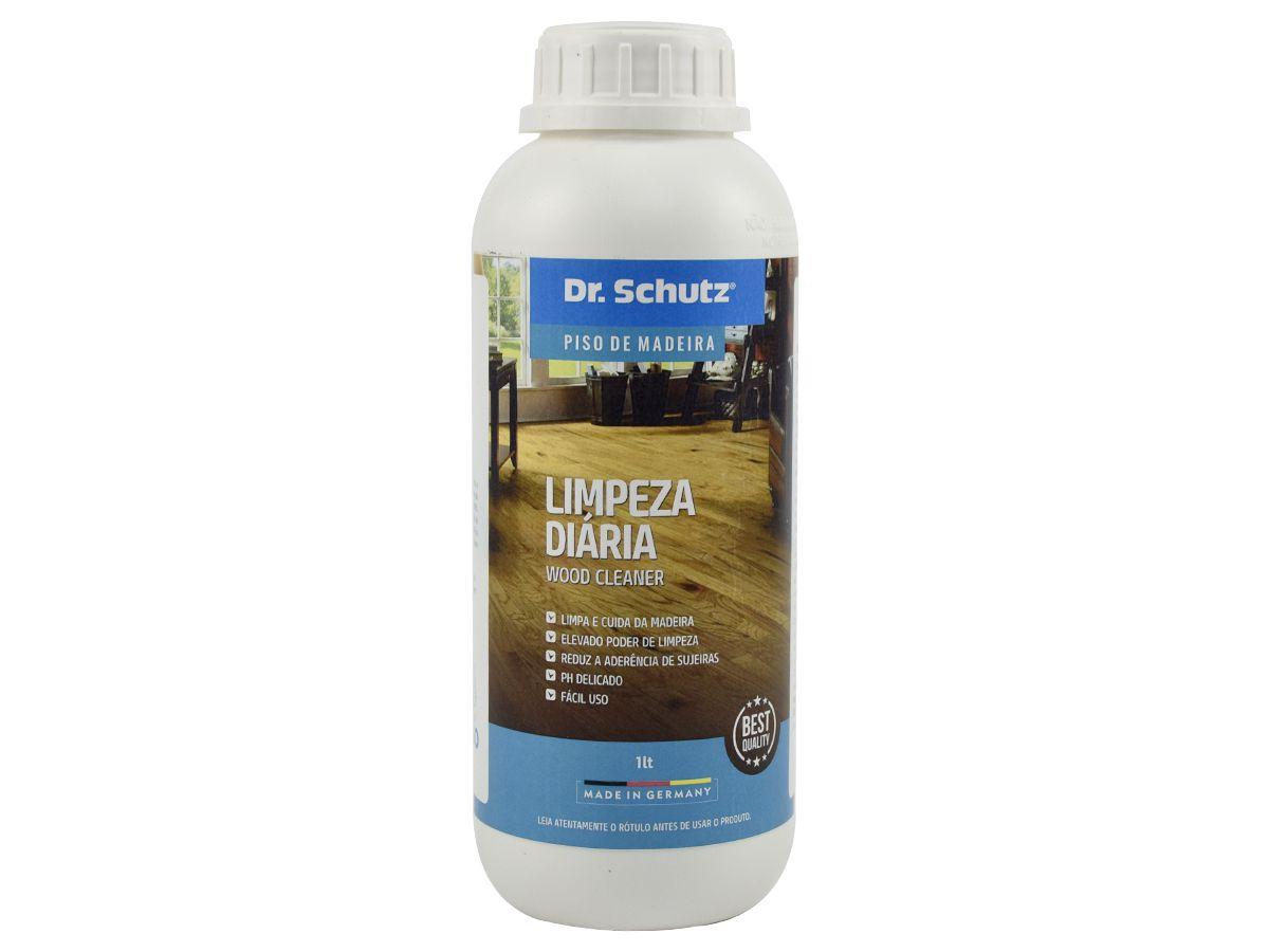 Limpeza Diária Pisos de Madeira Dr. Schutz - 1 Litro  - COLAR