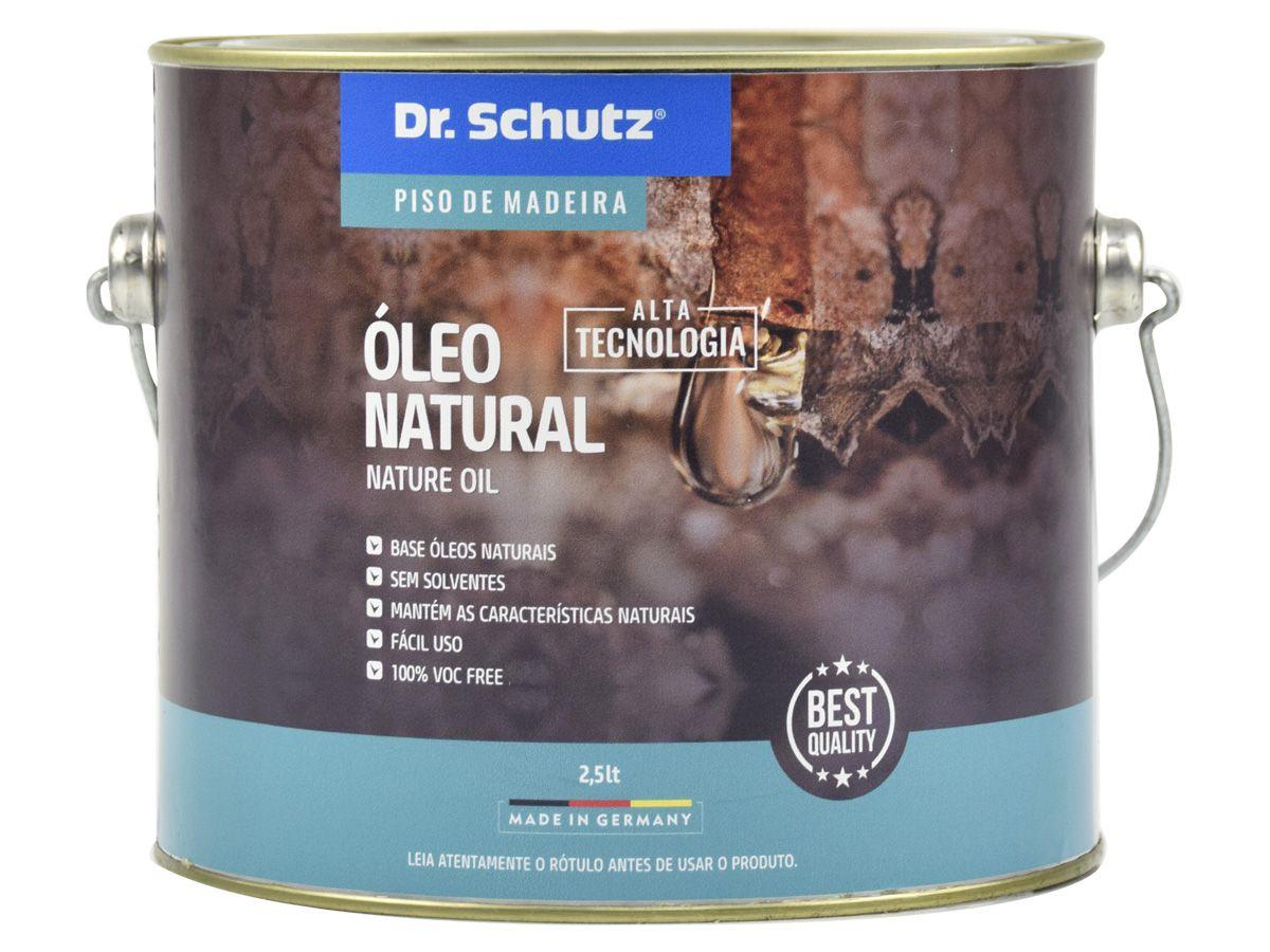Óleo Natural para Pisos de Madeira Dr. Schutz    - COLAR