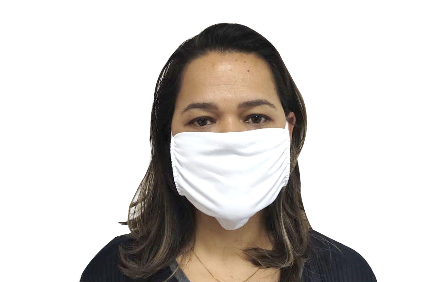 Máscara de Algodão Máxima Proteção - 3 Unidades  - COLAR