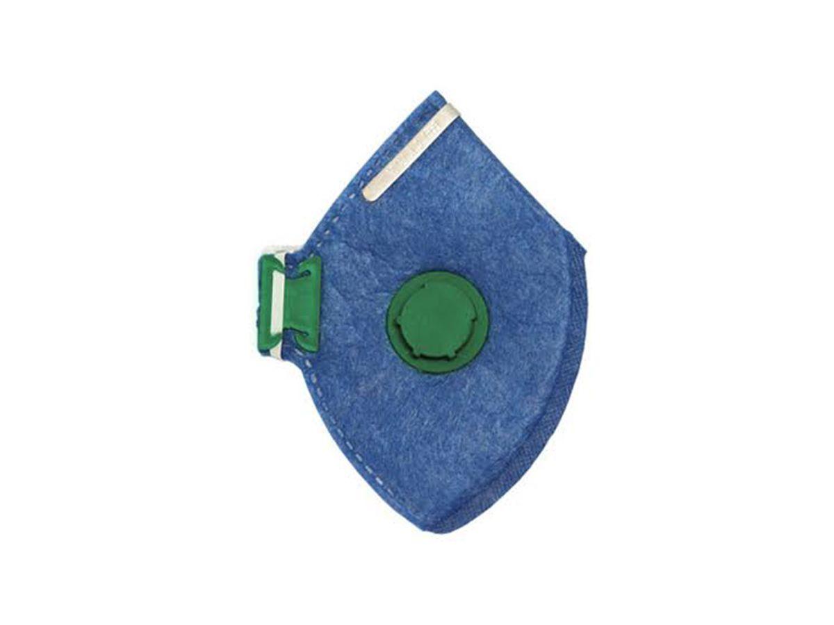 Máscara Facial Descartável PFF3 Valvulada - Delta Plus   - COLAR
