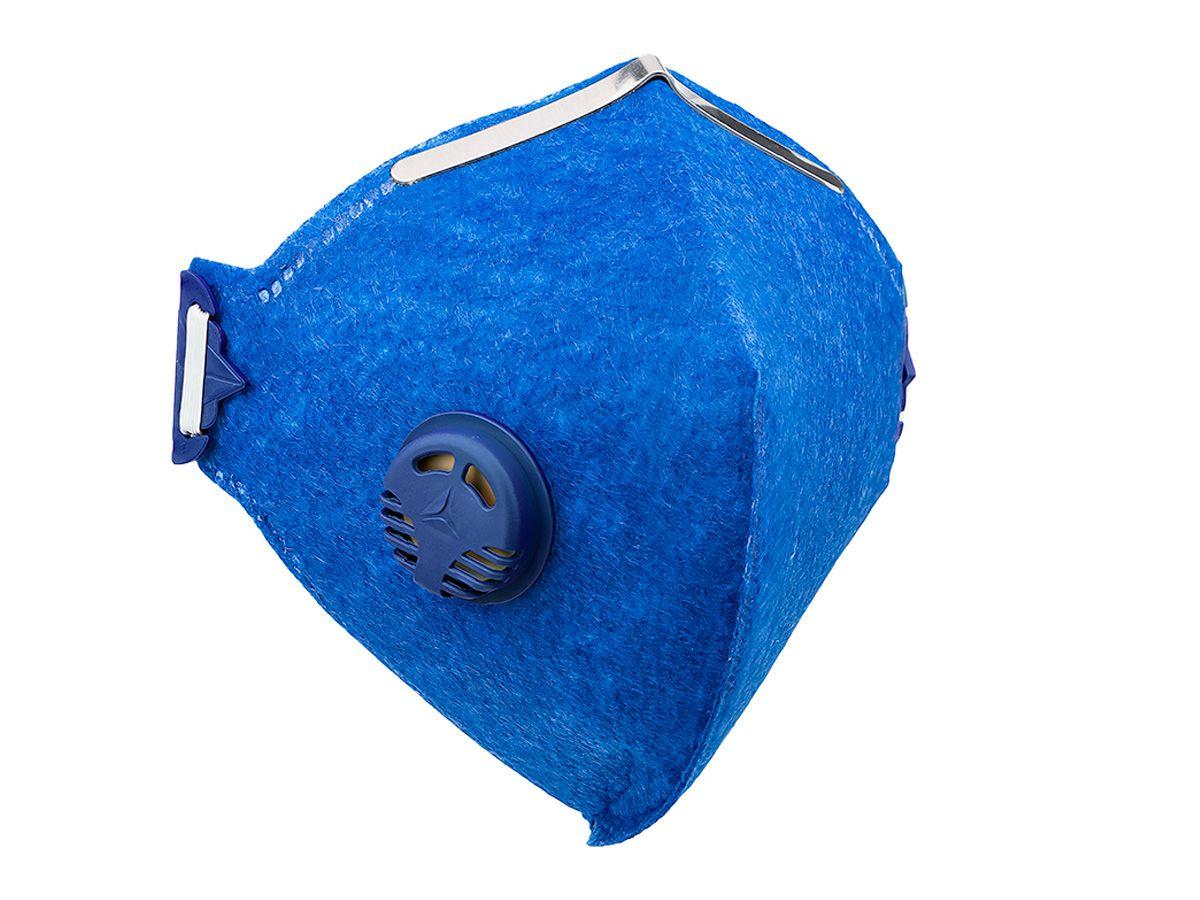Máscara Facial PFF2 Com Válvula - Delta Plus - Máxima Proteção   - COLAR