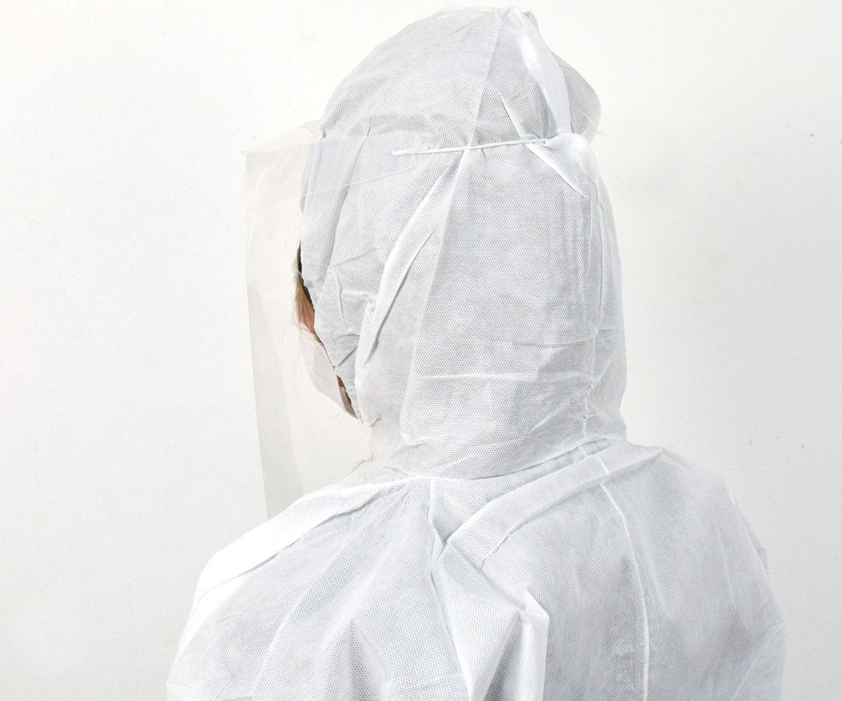 Máscara Protetor Facial com Elástico Fino - Máxima Proteção  - COLAR