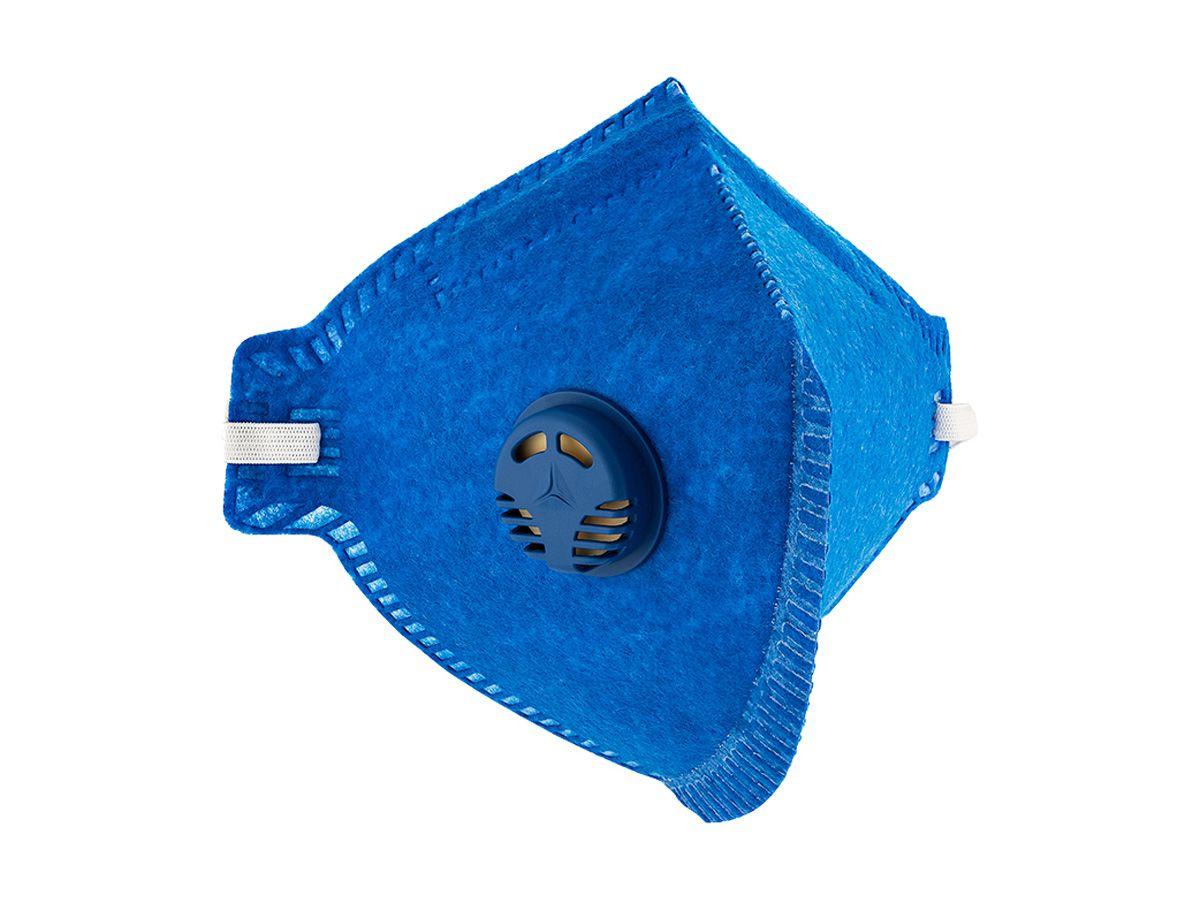 Máscara Respiratória Descartável com Válvula PFF-2 - Kala   - COLAR