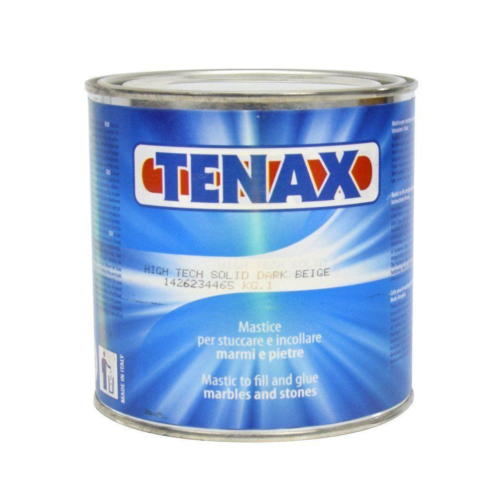 Massa Especial Poliéster Transparente Para Colagem de Pedras 1kg - Tenax  - COLAR