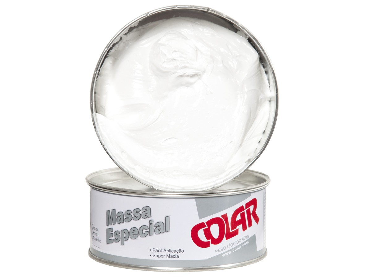 Massa Plástica Especial Para Colagem de Pedras Importadas e Industrializadas 600gr - Colar