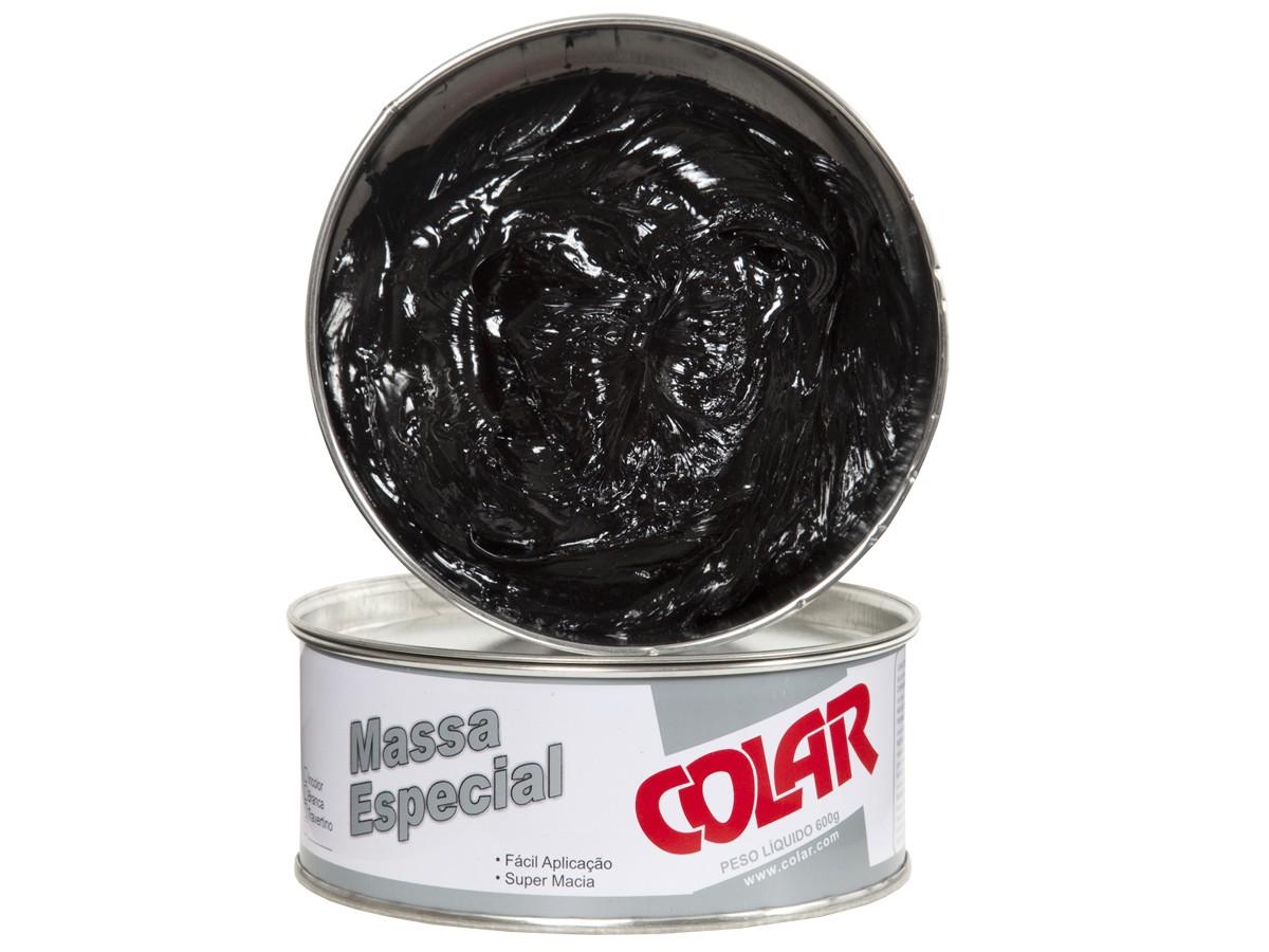 Massa Plástica Especial Para Colagem de Pedras Importadas e Industrializadas 600gr - Colar  - COLAR