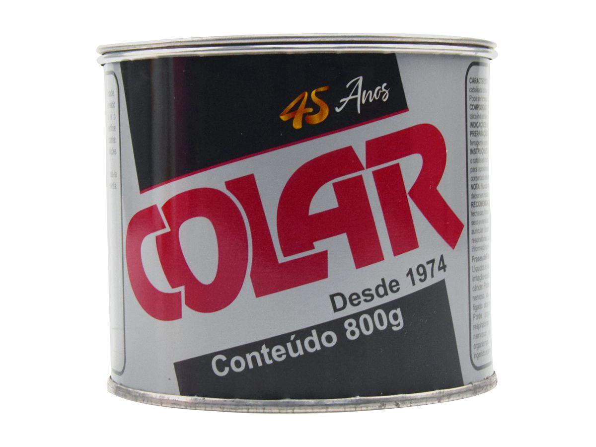 Massa Plástica Para Colagem de Pedras 800gr - Colar  - COLAR