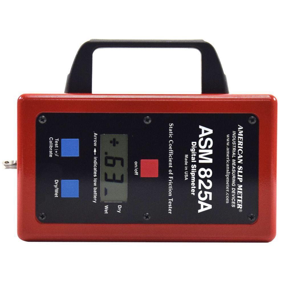 Medidor Digital de Deslizamento ou Coeficiente de Atrito - Slip Meter  - COLAR
