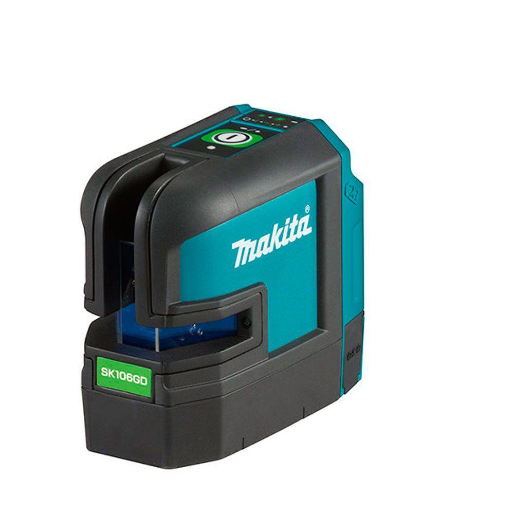 Nível a Laser a bateria SK106GDZ laser verde Makita  - COLAR