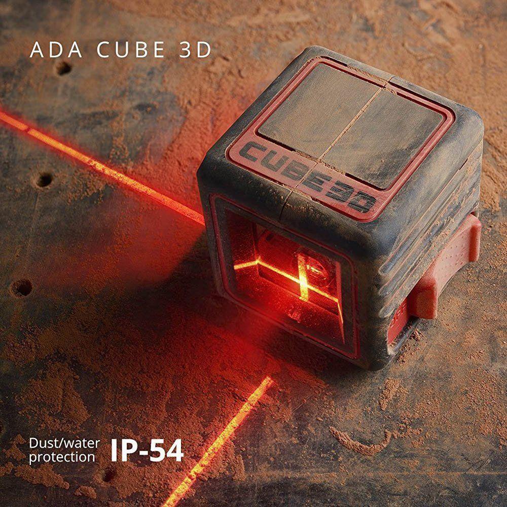 NIVEL A LASER ADA CUBE 3D ULTIMATE 20M  - COLAR
