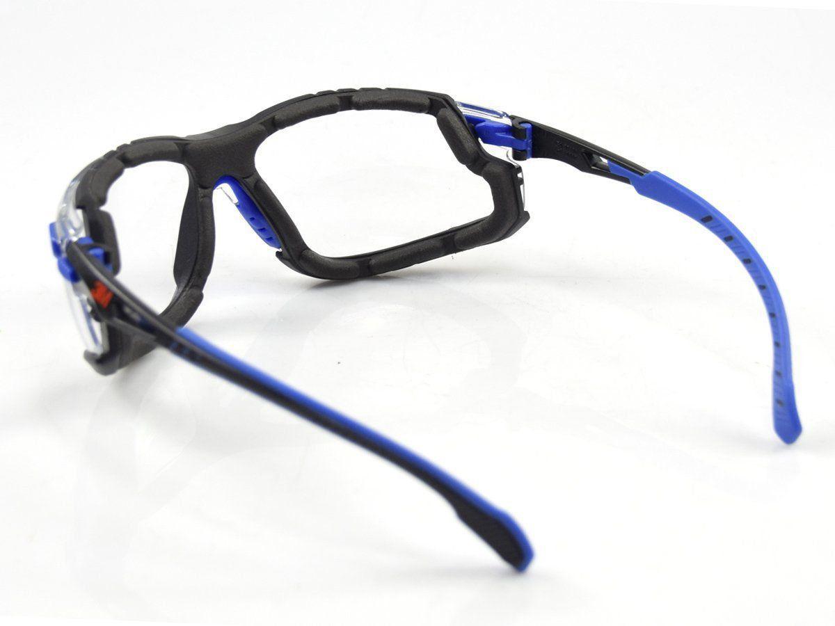 Óculos de Segurança 3M™ Kit Solus 1000 Transparente com tira elástica e espuma de vedação  - COLAR