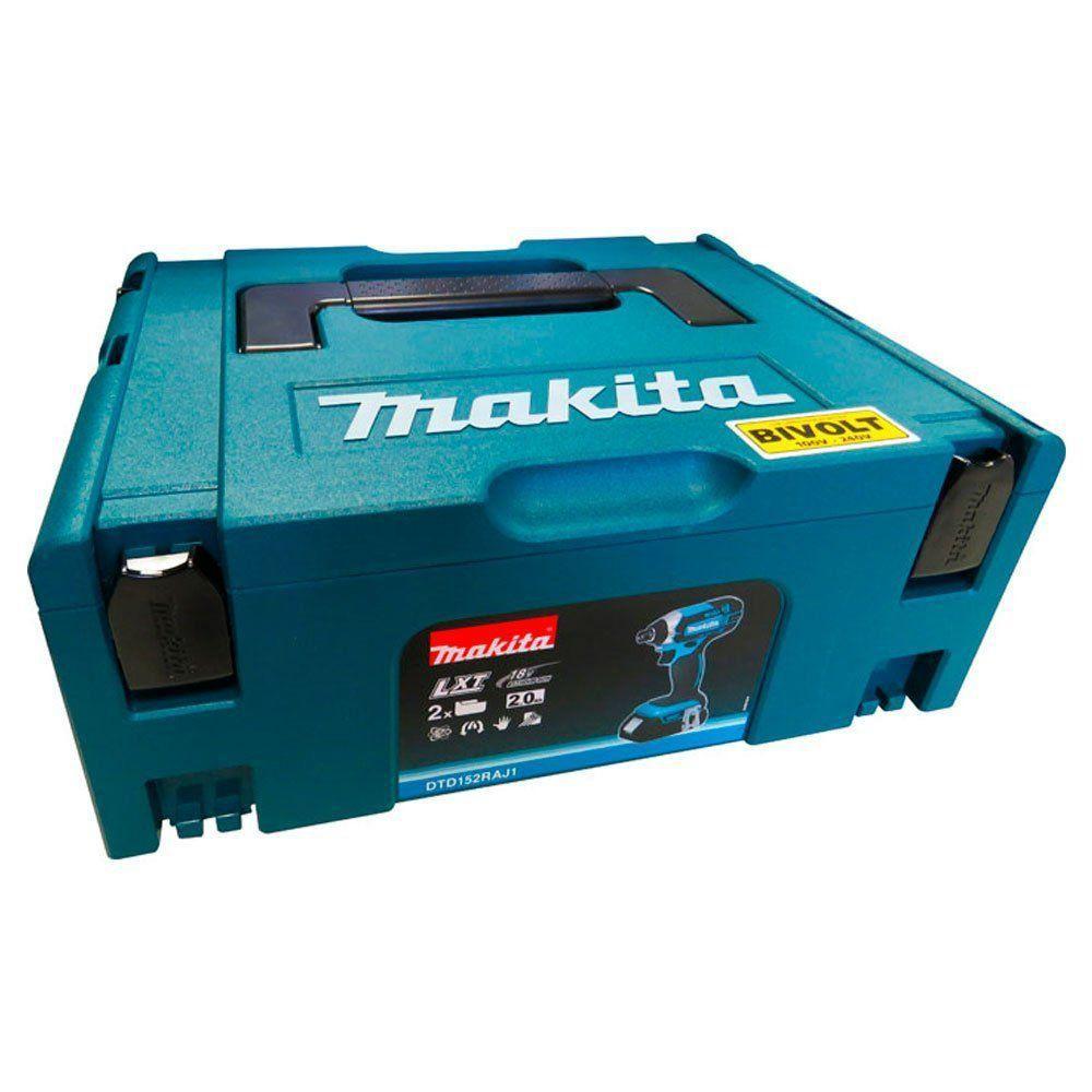 Parafusadeira de Impacto à Bateria DTD152RAJ1 - Makita  - COLAR