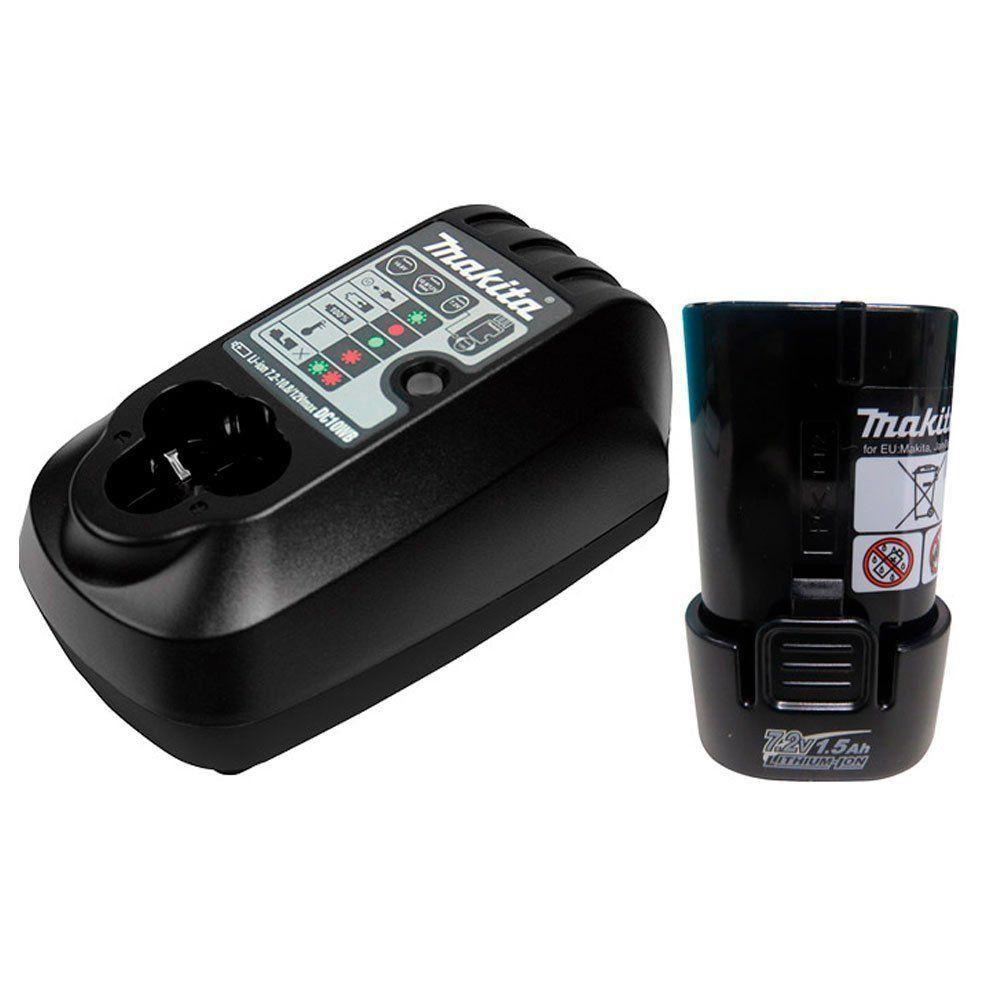 Parafusadeira Dobrável à Bateria TD022DSE - Makita  - COLAR