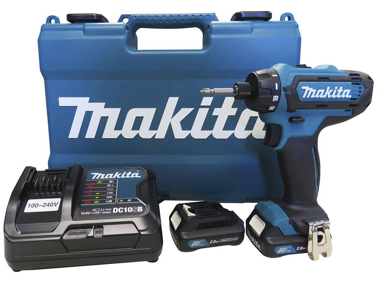 Parafusadeira / Furadeira à Bateria 12V Bivolt DF031DSAE - Makita  - COLAR