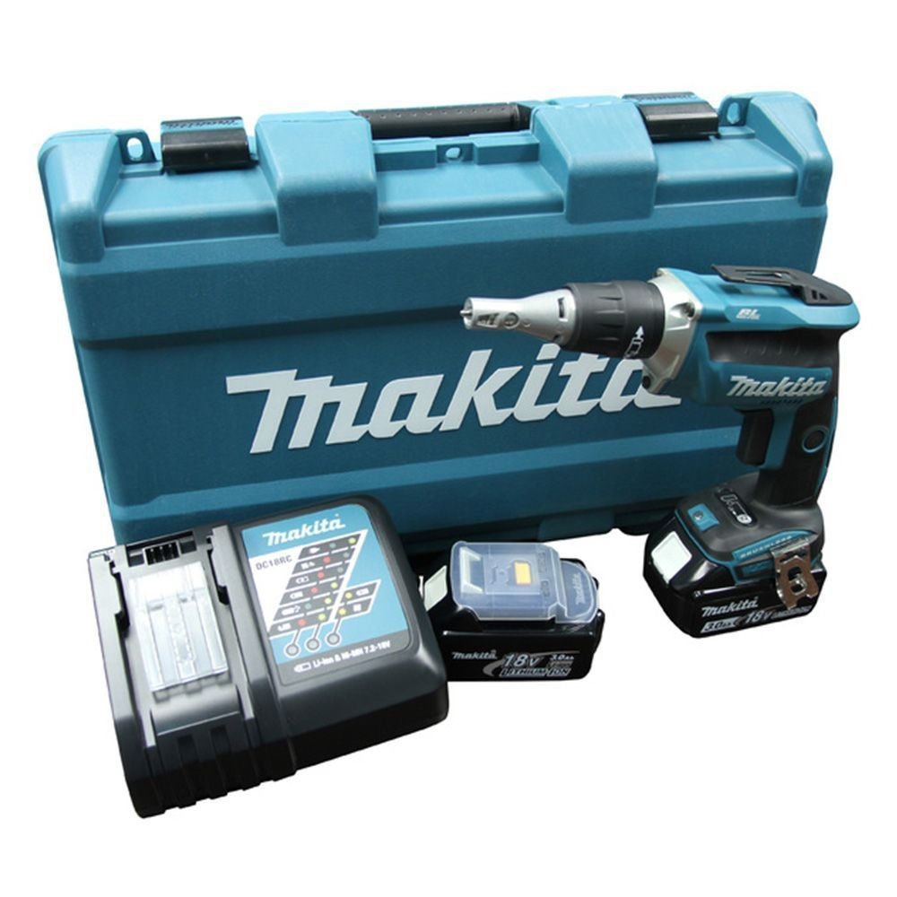 Parafusadeira Para Gesso a bateria DFS452RFE - Makita 220V  - COLAR