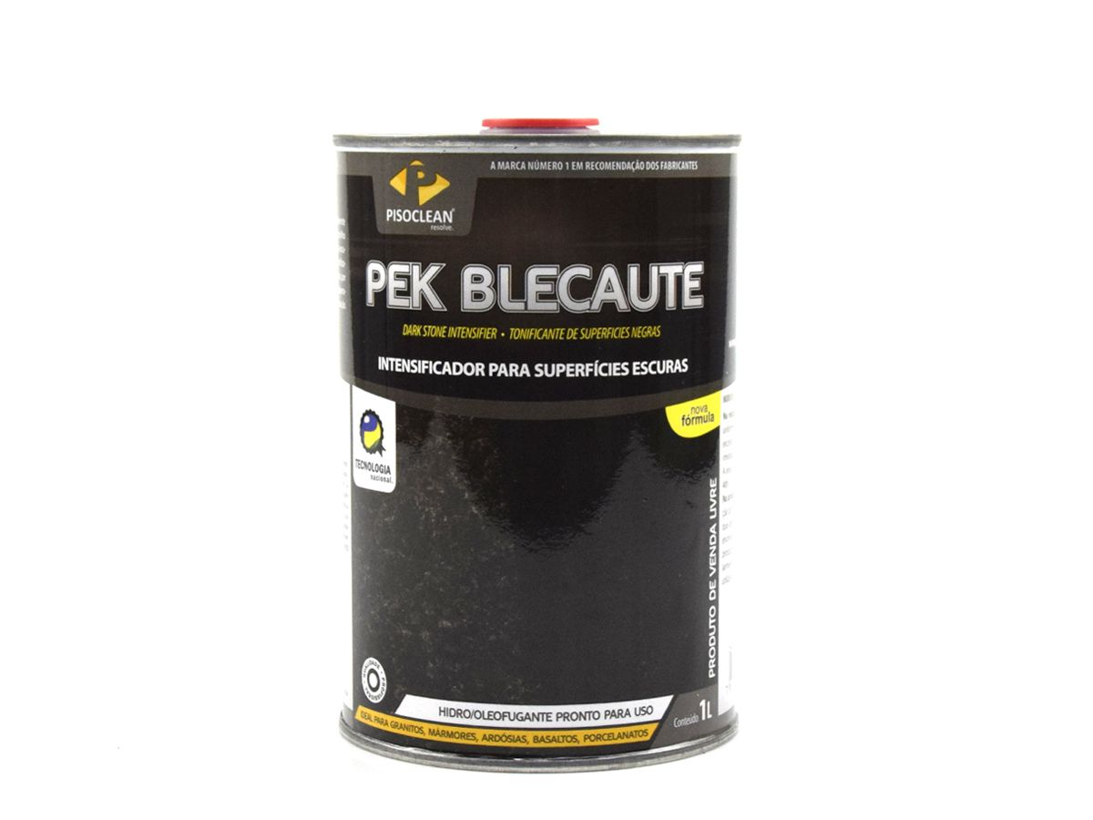Pek Blecaute 1Litro Impermeabilizante Intensificador de Superfícies Escuras  - COLAR
