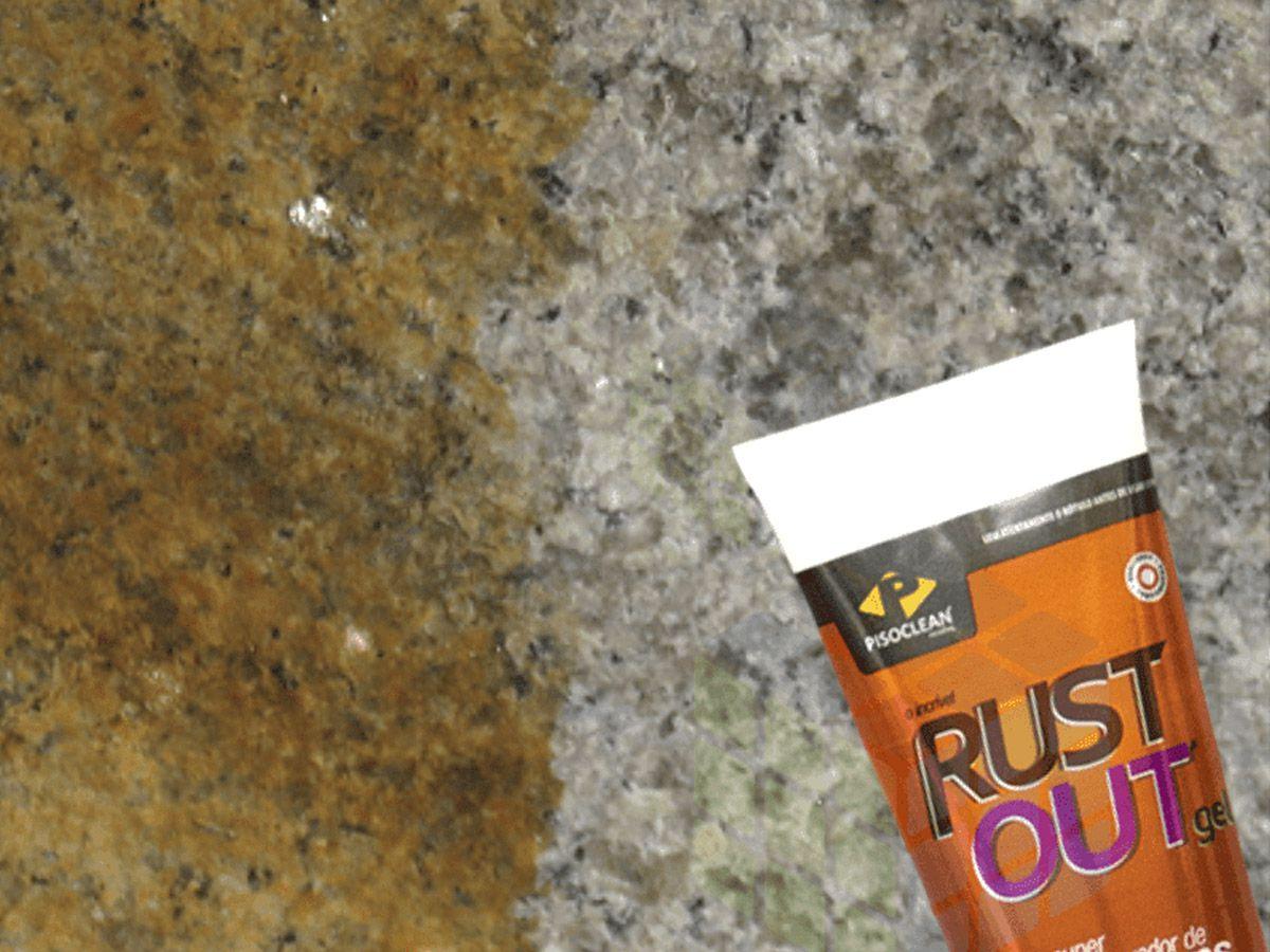 Pek Rust Out Gel 100g -  Super Removedor de Ferrugens e Oxidações  - COLAR