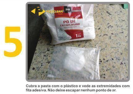 Pek Tiramanchas e Pó de Cataplasma - Intensifica a Remoção de Manchas Orgânicas   - COLAR