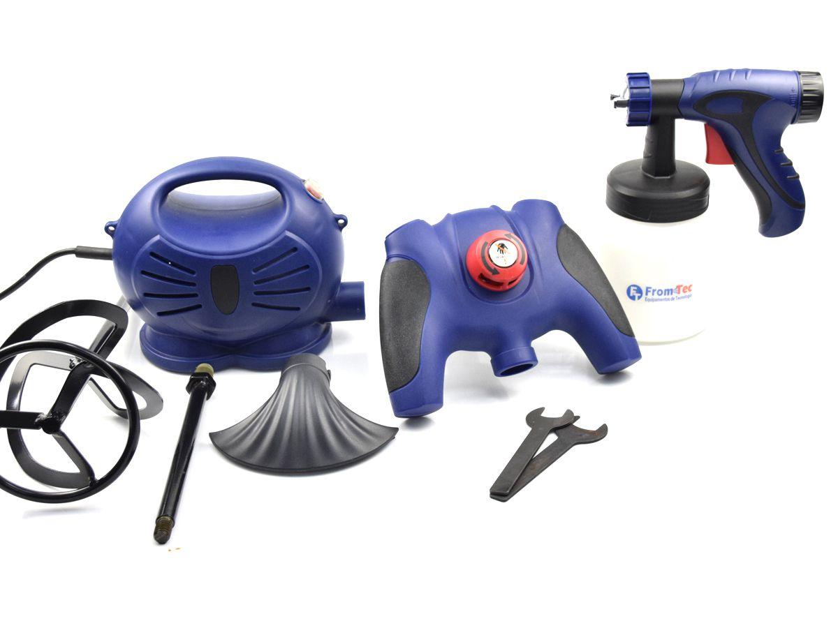Pistola Pintura Elétrica com Misturador FT.PM02