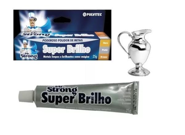 Polidor de Metais - Super Brilho 25g