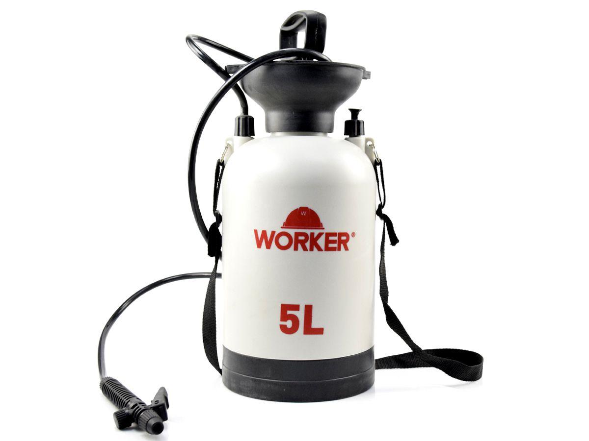 Pulverizador Compressão Previa 5,0 L - Worker  - COLAR